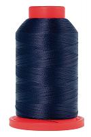 Оверлочная полупрозрачная нить, AMANN GROUP METTLER, SERALENE, 2000 м №0827 темно-синий