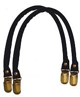 Ручки для сумки черные, 33см