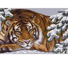 """Рисунок на канве 37х49см арт.356 """"Амурский тигр"""""""