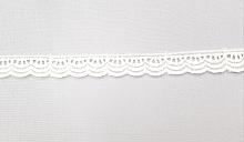 Кружево узкое белое, 10мм