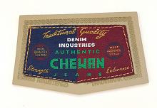 "Термоаппликация ""CHEWAN"", 11.8 х 5.5 см"