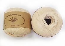 Пряжа Рафия (Raffia), цвет 188 топленное молоко