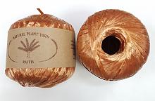 Пряжа Рафия (Raffia), цвет 049 медный
