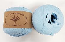 Пряжа Рафия (Raffia), цвет 015 голубой
