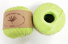 Пряжа Рафия (Raffia), цвет 026 салат