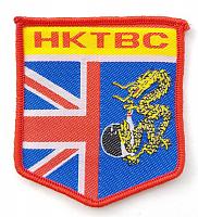"""Термоаппликация """"HKTBC"""", 6 х 6.7 cм"""