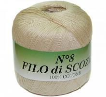 Filo Di Scozia №8 (Фило Ди Скозиа №8 - 03 кремовый