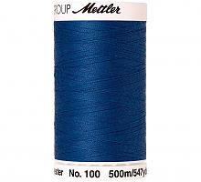 Нить универсальная SERALON 100, 500 м, цвет 0815 темно-голубой