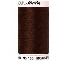 Нить универсальная SERALON 100, 500 м, цвет 0975 коричневый