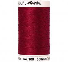 Нить универсальная SERALON 100, 500 м, цвет 0106 бордовый