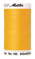 Нить универсальная SERALON 100, 500 м, цвет 0120 желтый