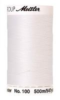 Нить универсальная SERALON 100, 500 м, цвет 2000 белый