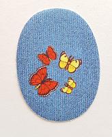 Термоаппликация бабочки, 11.5 х 8.5 см