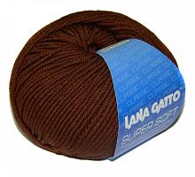 Пряжа SUPER SOFT 10040 коричневый