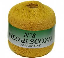 Filo Di Scozia №8 (Фило Ди Скозиа №8), цвет 102 горчица