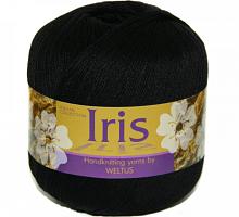 Пряжа Ирис (Iris), цвет 72 черный
