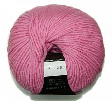 Пряжа Морбидоне 500 (Morbidone 500), цвет 004 розовый