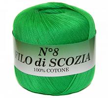 Filo Di Scozia №8 (Фило Ди Скозиа №8 - 45 ярко зеленый