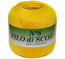 Filo Di Scozia №8 (Фило Ди Скозиа №8 - 12 желтый