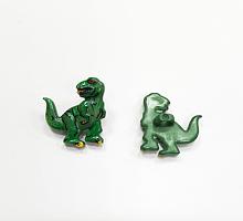 Пуговица детская на ножке динозавр