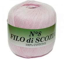 Filo Di Scozia №8 (Фило Ди Скозиа №8 - 32 нежно-розовый