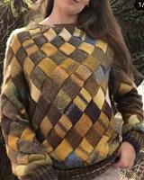 Пряжа Ацтека Файн  цвет 202 горчичный