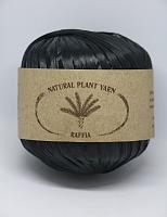 Пряжа Рафия (Raffia), цвет 003 черный