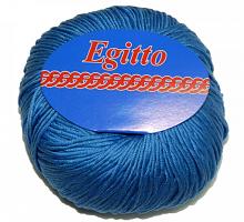Пряжа Египет (Egitto) 61 голубой джинс