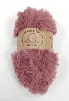 Пряжа Fancy fur (Фанси фе), цвет 21 брусника
