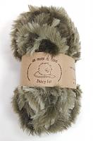 Пряжа Fancy fur (Фанси фе), цвет 117 киви