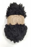 Пряжа Fancy fur (Фанси фе), цвет 02 черный
