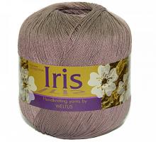 Пряжа Ирис (Iris), цвет 162 пыльная роза