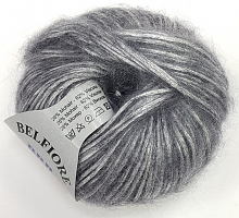 Пряжа Вelfiore (Бельфиоре) 13 античное серебро