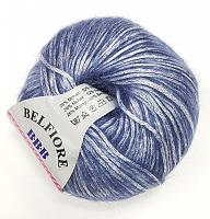 Пряжа Вelfiore (Бельфиоре) 09 сапфир