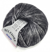 Пряжа Вelfiore (Бельфиоре) 12 графит