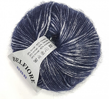 Пряжа Вelfiore (Бельфиоре) 10 темная ночь