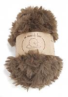 Пряжа Fancy fur (Фанси фе), цвет 416 св.коричневый