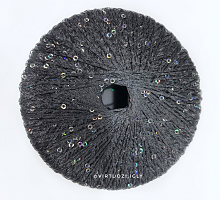 Пряжа Pailletten (Пайетки) темно-серый