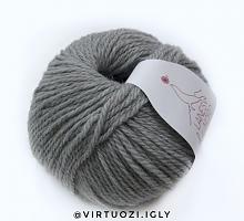 Merino yak Laines du Nord (Мерино як) 20 серый меланж