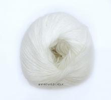 Пряжа Angora Soft (Ангора Софт), цвет 7146 белый