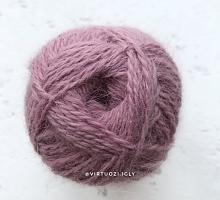 Пряжа Рэббит ангора (Rabbit Angora), цвет 333 черничное мороженое
