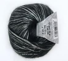 Пряжа Вelfiore (Бельфиоре) 07 серый с зелёным подтоном
