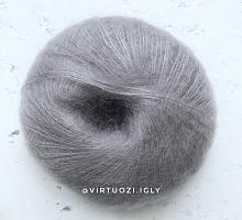 Пряжа Софт Дрим (Soft Dream) 0303 серый