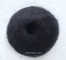 Пряжа Софт Дрим (Soft Dream) 0200 черный