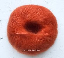 Пряжа Софт Дрим (Soft Dream) 0166 оранж