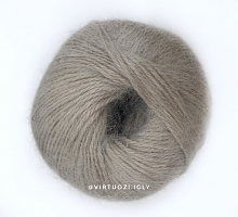 Пряжа Angora Soft (Ангора Софт), цвет 7228 серо-бежевый