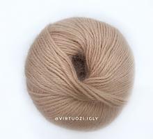 Пряжа Angora Soft (Ангора Софт), цвет 7303 нюд