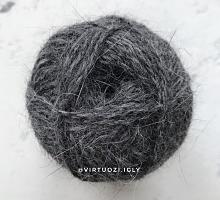 Пряжа Рэббит ангора (Rabbit Angora), цвет 96 серый меланж