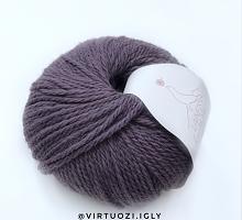 Merino yak Laines du Nord (Мерино як) 05 фиолетовая пастель