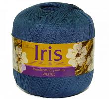 Пряжа Ирис (Iris), цвет 67 темный джинс